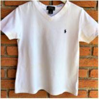 MT - 5627 - Camiseta Ralph Lauren branca – Menino 5 anos - 5 anos - Ralph Lauren