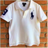 MT - 5611 - Camisa branca Polo Ralph Lauren – Menino 5 anos - 5 anos - Ralph Lauren