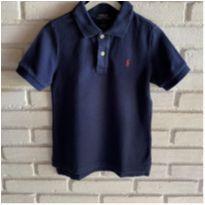 MT - 5615 - Camisa marinho Polo Ralph Lauren – Menino 5 anos - 5 anos - Ralph Lauren