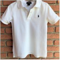 MT - 5614 - Camisa branca Polo Ralph Lauren – Menino 5 anos - 5 anos - Ralph Lauren