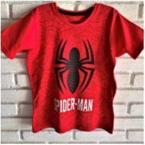 MT - 5660 - Camiseta Marvel – Menino 6 anos  – Spider Man - 6 anos - MARVEL