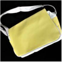 5687 - Bolsa de bebê – branco e amarelinho -  - Nacional