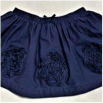 5714 - Saia calça marinho OshKosh – Menina 18 meses. - 18 meses - OshKosh