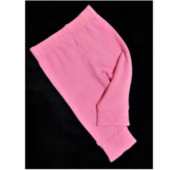 5707 - Calça rosa importada – Menina 3/6 meses - 3 a 6 meses - Importada