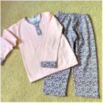 5753 - Pijama Sonho e Magia – Menina 6 anos – Mil flores
