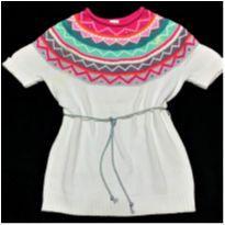 5767 - Blusa em tricô Gymboree – Menina 7-8 anos. - 7 anos - Gymboree
