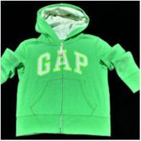 5786 - Blusão verde Gap Kids – Menina 4/5 anosGap - 4 anos - GAP