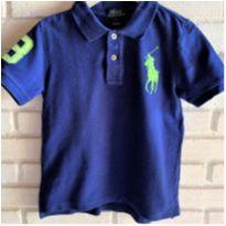 MT - 5612 - Camisa Polo Ralph Lauren em azul royal – Menino 5 anos - 5 anos - Ralph Lauren