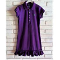 5855 - Vestido roxo Ralph Lauren – Menina 8/10 anos - 9 anos - Ralph Lauren