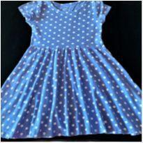 5861 - Vestido de poá Old Navy – Menina 6/7 anos - 6 anos - Old Navy