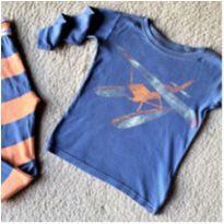 MT - 5631 - Pijama Baby Gap – Menino 5 anos – Planador
