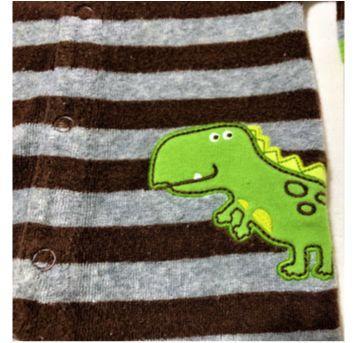 5873 - Macacão Carter's – Menino RN – Dinossauro - Recém Nascido - Carter`s