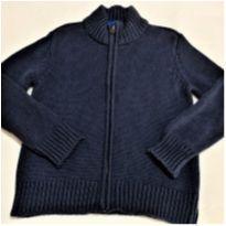 5961 - Casaco marinho em tricô Old Navy – Menino 5 anos - 5 anos - Old Navy