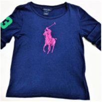 6007 - Camiseta Ralph Lauren – Menino 6 anos - 6 anos - Ralph Lauren