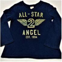 6060 - Camiseta Old Navy – Menino 2 anos – All-Star 2 –Angel - 2 anos - Old Navy