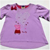 6045 - Batinha Peppa Pig – Menina 3-4 anos – I Love Peppa Pig - 3 anos - Peppa Pig