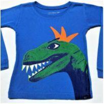 6043 - Camiseta Baby Gap – Menino 3 anos – Dino Rei - 3 anos - Baby Gap