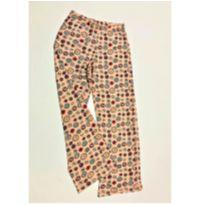6066 - Calça de pijama Hering Kids – Menina 6 anos – Bottons & Pins - 6 anos - Hering Kids