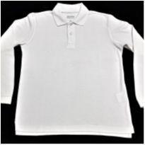 6079 - Camisa polo branca George – Menino 8 anos - 8 anos - George