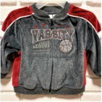 6124 – Casaquinho Miniwear – Menino 12 meses – Varsity League - 1 ano - Miniwear- USA