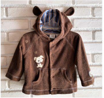 6136 – Casaquinho Koala Baby – Menino 12 meses – Cachorrinho - 1 ano - Koala Baby