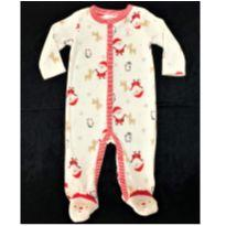 6218 – Macacão Carter's – Menino – 6 meses – Ajudante de Papai Noel