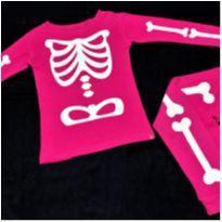 6299 – Pijama Baby Gap – Menina 4 anos – Eskeleto - 4 anos - Baby Gap