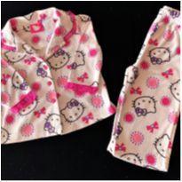 6298 – Pijama Hello Kitty – Menina 18 meses - 18 meses - Hello  Kitty