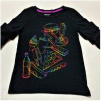 6399 – Blusa Gap Kids – Menina 6-7 anos -  Lanchinho - 6 anos - GAP