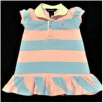 6430 – Vestido Ralph Lauren – Menina 12 meses - 1 ano - Ralph Lauren