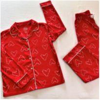 6549 – Pijama American Heritage – Menina 10 anos - 10 anos - Importado