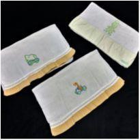 6576 – Kit de paninhos multiuso para bebê – Unissex -  - Nacional