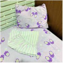 6638 – Jogo de lençol Zêlo para menina – Sapatilha -  - Zelo