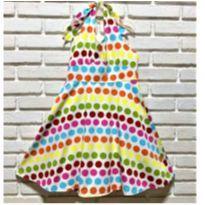6648 – Vestido importado – Menina 7 anos – Bolas multicolores - 7 anos - Importado