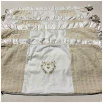 6646 – Capa para protetores de berço Celina Dias Bebê - Unissex -  - Nacional