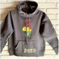 6678 – Blusão Omni Peace – Unissex – LG – 12 anos – Paz, Justiça e Ecologia. - 12 anos - Importado