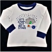 6680 – Camiseta Gym Mark – Menino 18 a 24 meses - Acampamento - 18 a 24 meses - Importada