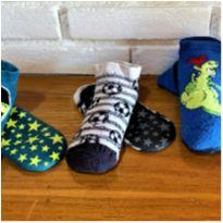 6781 – Kit de meias com solinha – Menino 7-8 anos - 7 anos - Várias