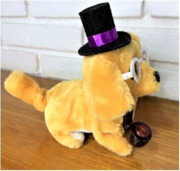 6800 – Puppy … cachorrinho que anda, late, mexe o rabinho  – 16 cm. - Sem faixa etaria - Importado