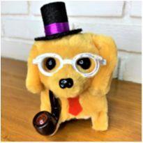 6800 – Puppy … cachorrinho que anda, late, mexe o rabinho  – 16 cm. -  - Importado