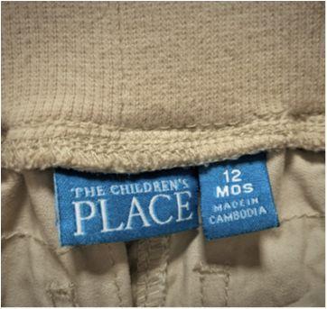 6865 – Calça Place – Menino 12 meses - 1 ano - Place