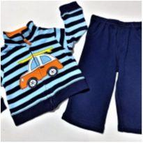 6861 – Conjunto Carter's – Menino 9 meses – Fusca on the beach - 9 meses - Carter`s
