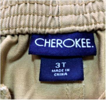 6888 – Calça Cherokee – Menino 3 anos - 3 anos - Cherokee