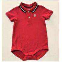 6904 – Camisa pólo-body Gymboree -  Menino 6 a 12 meses - 6 a 9 meses - Gymboree