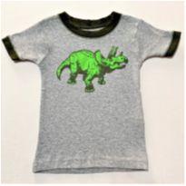 6971 – Camiseta Carter's – Menino 12 meses – TRICERÁTOPS. - 1 ano - Carter`s