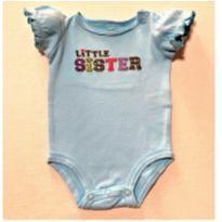 6967 – Body Carter's – Menina RN – Little Sister - Recém Nascido - Carter`s