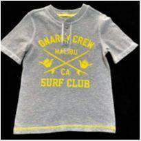 7009 – Camisa Old Navy – Menino 5 anos – Malibu Surf Club - 5 anos - Old Navy