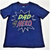 7065 – Camiseta Old Navy – Menino 5 anos – Meu herói - 5 anos - Old Navy