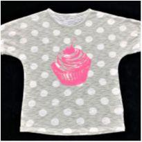 7074 – Top Old Navy – Menina 5 anos – Cup Cake - 5 anos - Old Navy