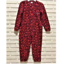 7083 – Macacão pijama Ronca e Fuça – Menina 6 anos - 6 anos - Nacional